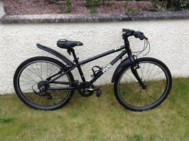 "Now SOLD - Frog 62 Hybrid bike - 24"" frame Black in good condition"