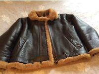 Top Gun Pilot Sheepskin jacket