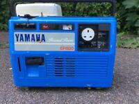 Yamaha ef600 suitcase petrol generator . As quiet as new honda generators