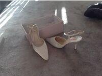 Bridal shoes, size 40
