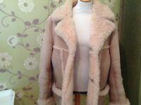 Baily's Glastonbury Men's Sheepskin Jacket Coat XL Warm Winter clothing