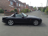 1998 TVR CHIMAERA 4.0 PETROL MANUAL 56200 MILES BLACK