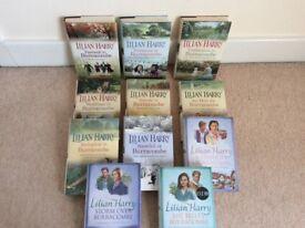 Lilian Harry book collection 11 hardbacks