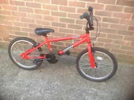 Boy or Girls Trax BMX Cycle