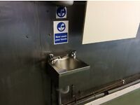 Hand wash sink catering