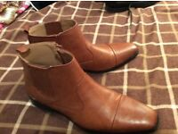 As new Men's Beige Shoes Size 10