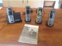 Telephones Cordless with answer machine