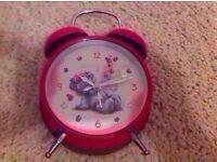 Tatty teddy alarm clock