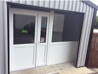 White pvc shop front,(butchers,cafe,hotel,hairdresser,business,beautician,beauty,home)