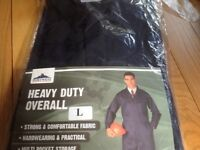Heavy Duty Coveralls size Large