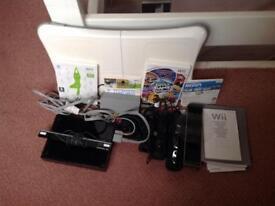 Black Wii console