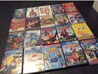 20 children's dvds