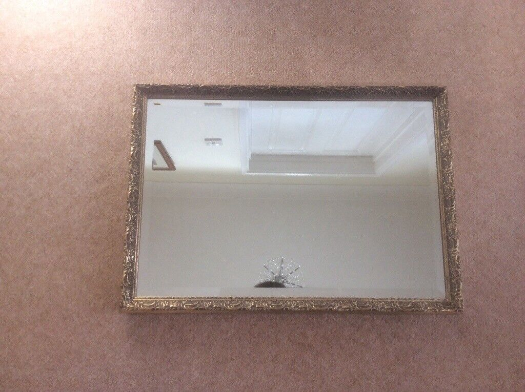 Gold Antique Style Mirror