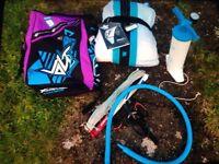 9m f-one volt2 kite, bar&bag