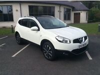 2011 Nissan Qashqai +2 n-tec 1.5 DCI Top Spec 7 Seats Only 57k FSH Full Mot