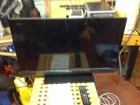 Sony Bravia 32 inch flatscreen TV with remote