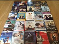 Superb collection of great films - DVD's - all genres Region 2 - excellent condition