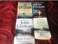 4 John Grisham books