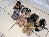 8 pairs of Designer shoes size 5, inc/ Kurt Geiger, Carvella & Office