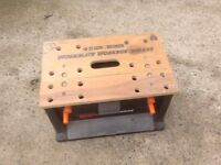 Black and Decker Workmate in reasonable condition.All parts work fine
