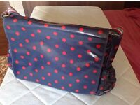 Cath Kidston new (never been used) oilcloth nappy changing bag £40