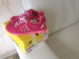 Girls pink Karrimor Duma2 trainers size 2 Brand NEW with box