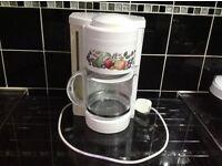 Fresh fruit percolator coffee machine in good used condition