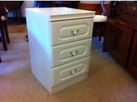 Very Nice Small Three Drawer Bedside Table £20.00