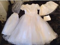 Holy Communion Dress With Accessories