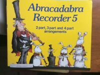 Descant and treble recorder music