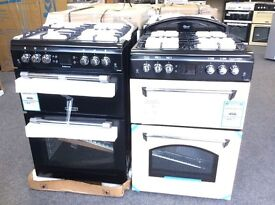 Leisure cookmaster double oven gas cooker new in package 12 mths gtee