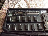 Line 6 bass pod effects pedalboard
