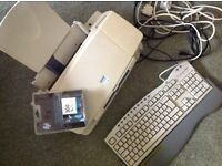 Epsom stylus colour 760 printer with Keyboard