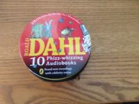 Roald Dahl set of Audiobooks