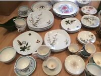 Large collection of midwinter style craft and vintage crockery