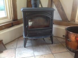 DOVRE Wood Burner Stove Black. . 3kw to 10kw. SIDE. or FRONT LOADING. GLASS CLEAR SYSTEM