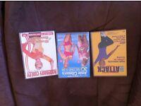 3 fitness dvds