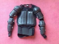 Motocross UFO body armour