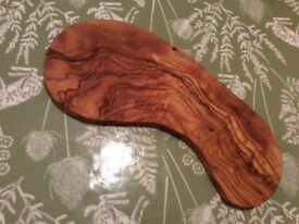 New olive wood bowls, boards, chopping boards, serving platters