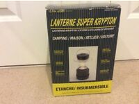Super crypton water proof camping lantern