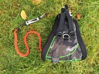 Dakine Hawaii Tabu harness and Mistic leash.