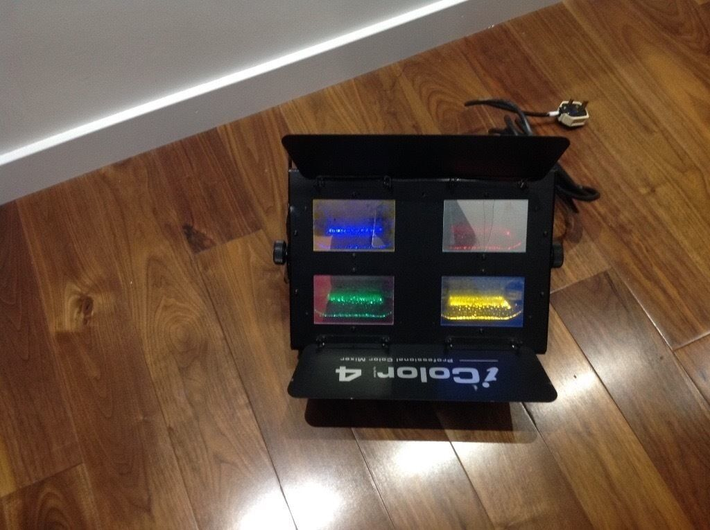 Acme icolor 4 Stage Lightin Newtownabbey, County AntrimGumtree - Acme icolor 4 stage light 4x 500w bulbs (all working) In good condition but with one of the glass covers cracked and 2 off the folding covers missing does not effect the light Contact Gary on 07591 976583 for details