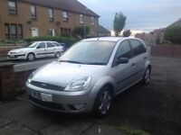 Ford Fiesta Zetec 1-25 petrol 2005 low mileage for year
