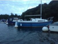 Snapdragon 20foot sailing boat with cheap mooring beaulieu river
