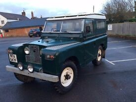 Landrover Series 2a Historic Vehicle, Tax Exempt