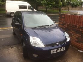 Ford fiesta 1.2 11 months mot 100% reliable 64,000 miles