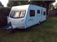 2010 Lunar Ultima 546, 6 berth caravan with motor mover.