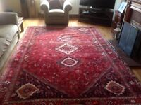 Beautiful Persian style rug 3.25 metres x 2.25 metres. Excellent condition.