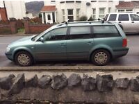 Volkswagen Passat 2000 1.9 TDI Estate with many new parts & full set of brake discs and pads inc