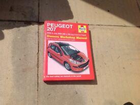 Haynes Peugeot 207 workshop manual